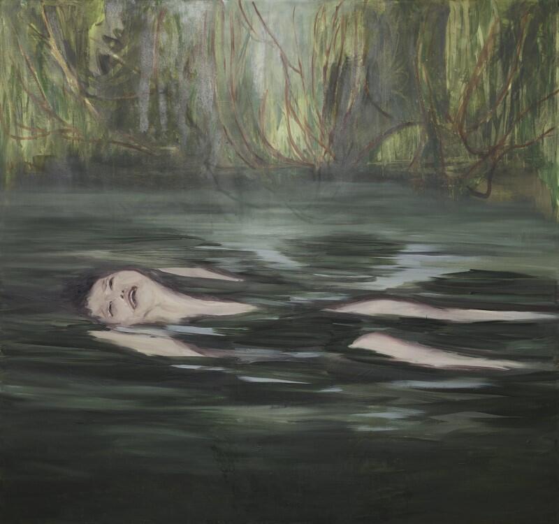 Agata Nowosielska, obraz Krzyk  z cyklu Nirwana