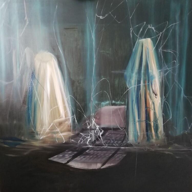 Agata Nowosielska, obraz olejny z cyklu Nirvana, pt. Offseason