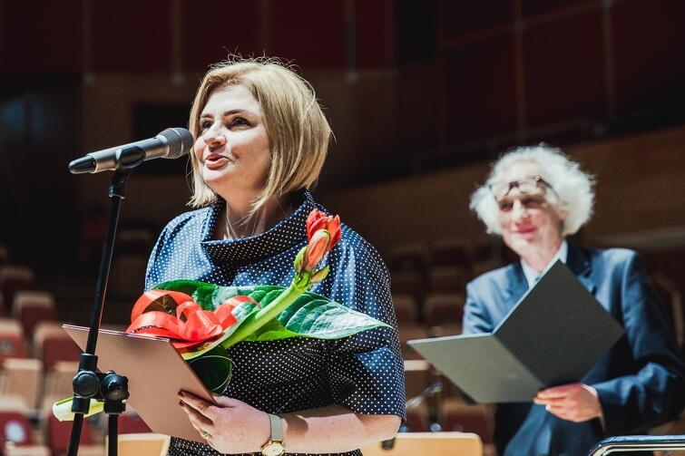 Iwona Berent, konserwatorka zabytków - nominowana za koordynację wieloletniej rewaloryzacji Centrum św. Jana w Gdańsku
