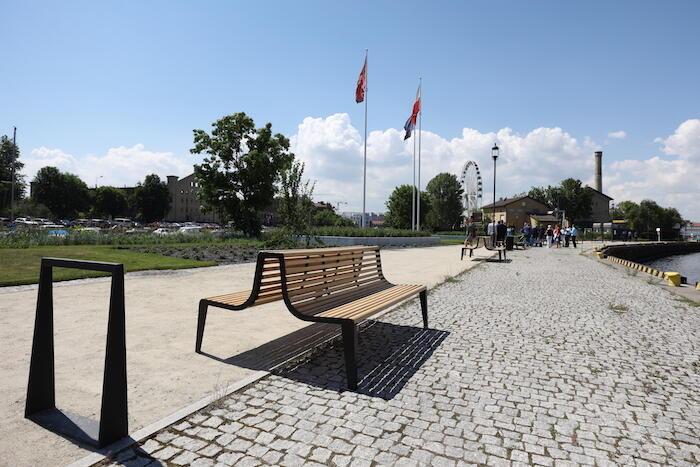 Tak wygląda Aleja Włazów, czyli nowe miejsce dla spacerowiczów na mapie Gdańska