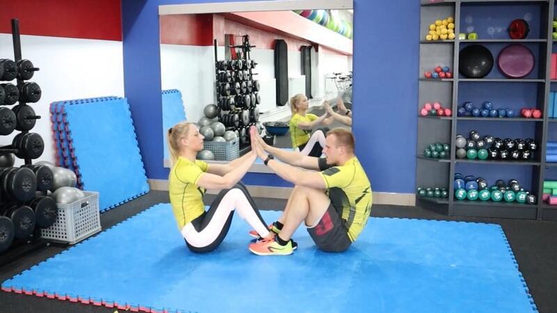 Ćwiczenia w parach - Ania i Cezary