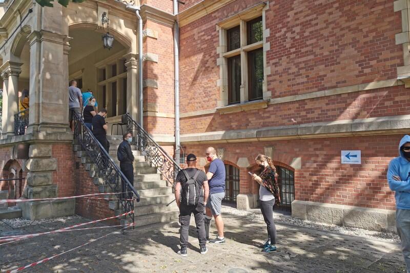 Z jednorazowej niedzielnej akcji szczepień w Nowym Ratuszu - siedzibie Rady Miasta Gdańska - skorzystało ponad 120 osób