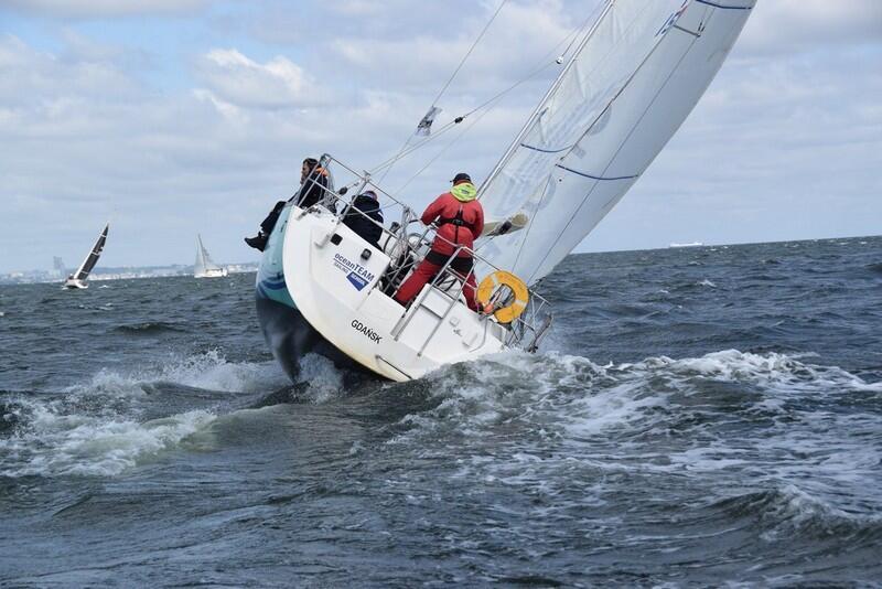Dobrze powiało - żeglarze startujący w regatach byli zadowoleni