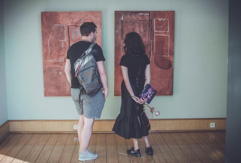 Wystawa prac Magdaleny Sadłowskiej w Galerii Klubu Żak potrwa do 30 czerwca 2021 r.