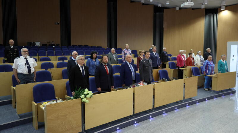 Jubileusz 75-lecia Polskiego Związku byłych Więźniów Politycznych Hitlerowskich Więzień i Obozów Koncentracyjnych odbył się w Okrągłej sali Urzędu Marszałkowskiego w Gdańsku