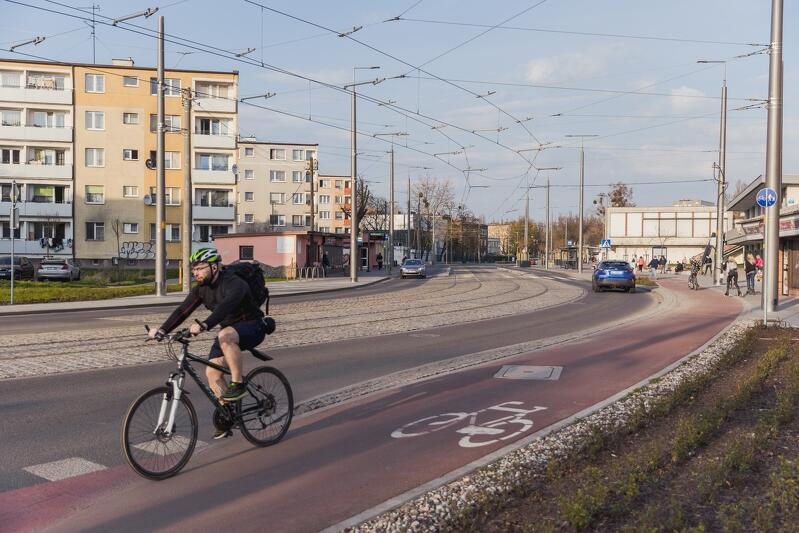 Mieszkańcy Trójmiasta będą mogli przedstawić swoje propozycje poprawy funkcjonowania transportu. Na zdjęciu droga rowerowa w dzielnicy Stogi