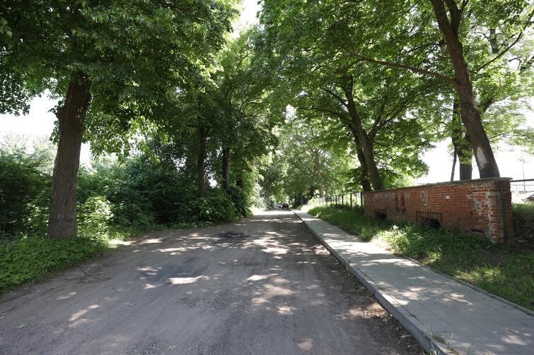 W tym roku na łączniku pomiędzy ul. Bysewską i Biologiczną położona zostanie nawierzchnia bitumiczna