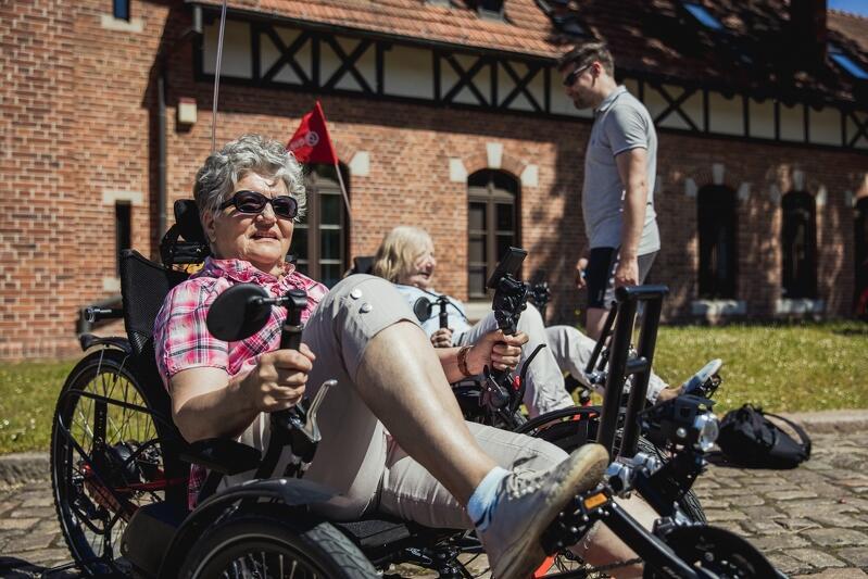 Gdańscy seniorzy mogą skorzystać z przejażdżek rowerami trójkołowymi