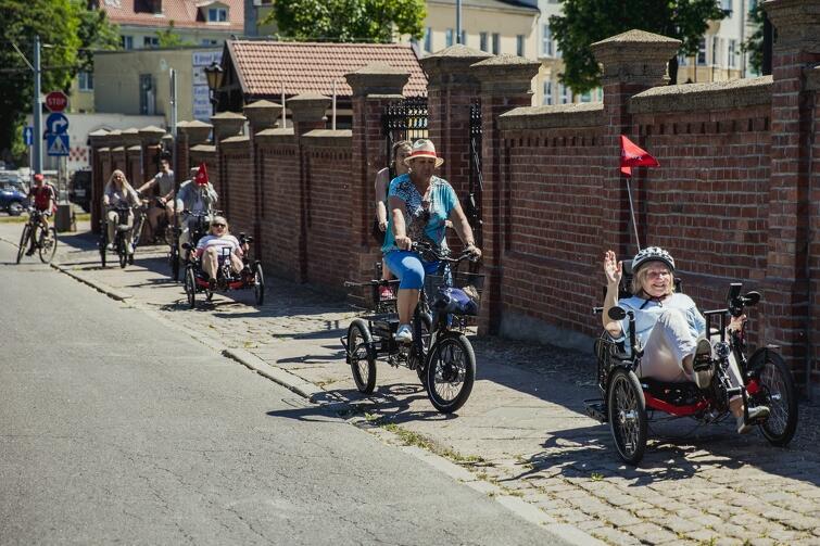 Gdańsk uczestniczy w europejskim projekcie zachęcającym seniorów do aktywności mobilnej
