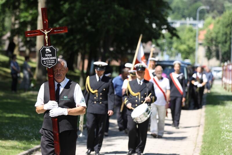 Uroczystości pogrzebowe kpt. Krystyny Chojnowskiej-Liskiewicz odbyły się 18 czerwca 2021 roku na Cmentarzu Srebrzysko