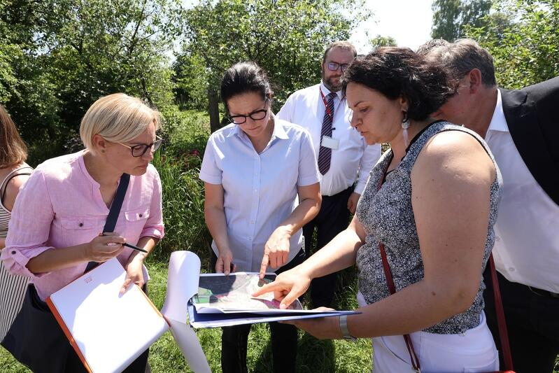 W piątek, 18 czerwca, odbył się kolejny spacer gospodarski po dzielnicy. Tym razem po Matarni