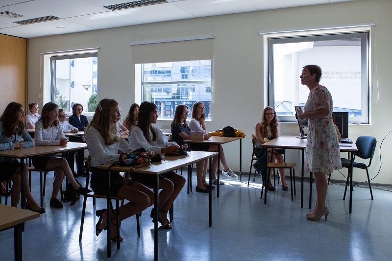 Inaguracja roku szkolnego w Liceum Akademickim im. Pawła Adamowicza, wrzesień 2019