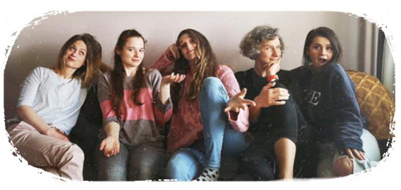 Nz. Projekt Masterki, czyli: (od lewej): Zuzanna Kulczyńska, Monika Palka, Dominika Suprun-Lachowicz, Aleksandra Trościankowska, Dorota Kopczyńska