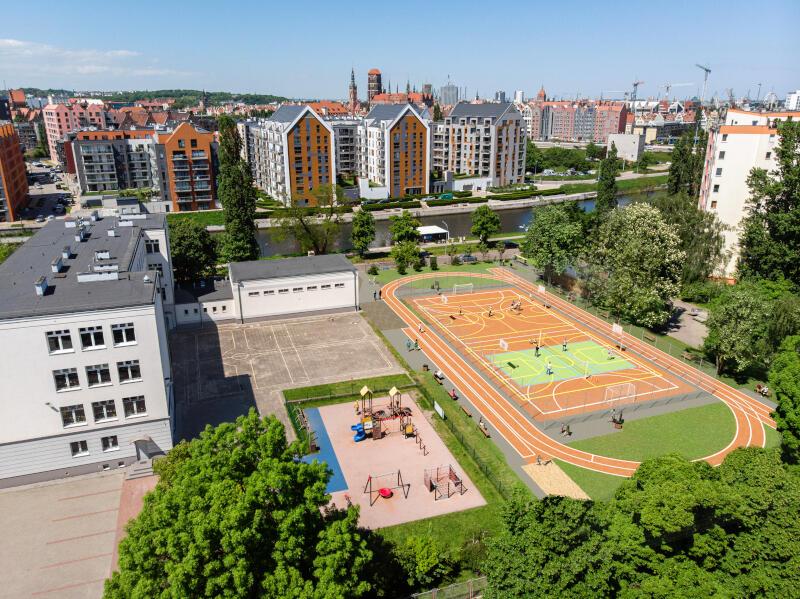 Realizacja projektu PPP na Dolnym Mieście rozpoczyna się od celu publicznego. W jego ramach powstaje m.in. nowocześnie zaprojektowany i wyposażony kompleks sportowy