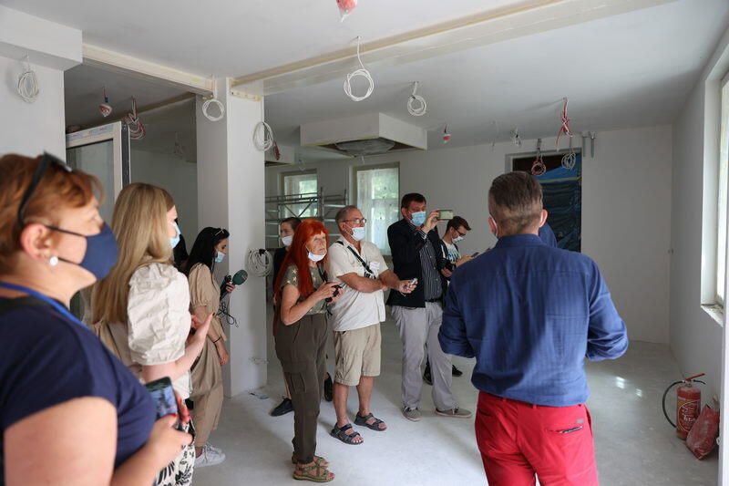 Podczas dnia otwartego można było zobaczyć wnętrza Domu Zdrojowego