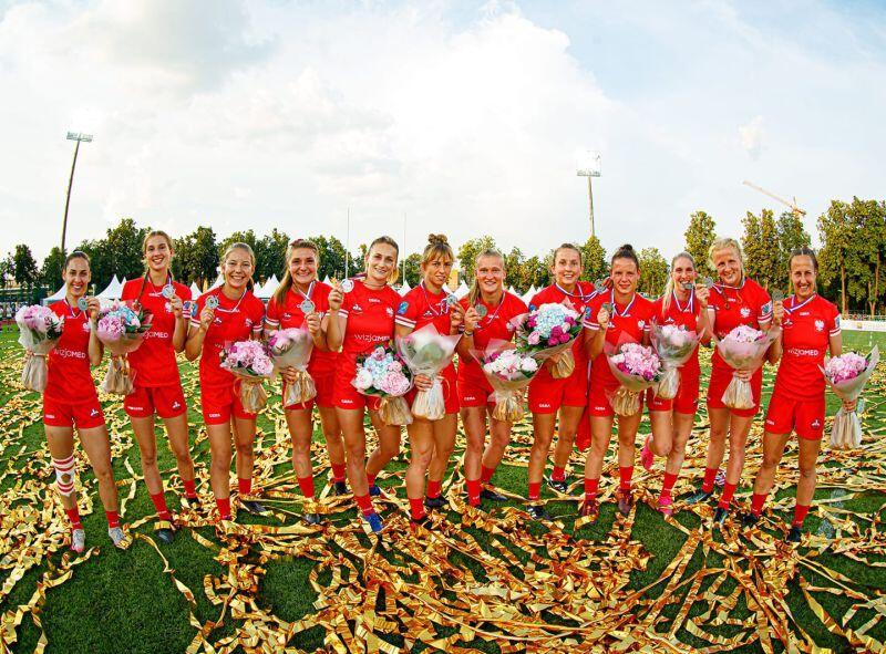 Wicemistrzynie Europy - reprezentacja Polski w rugby