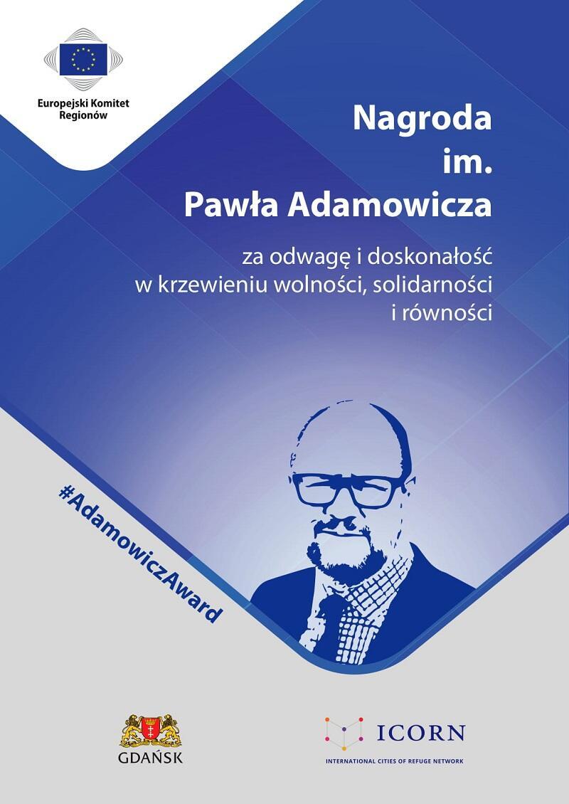 Ulotka nt. Nagrody Pawła Adamowicza-1