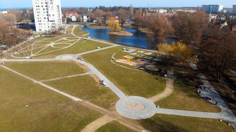Dzięki środkom z BO 2021 zmieni się także wygląd zielonego terenu przy ul. Pomorskiej