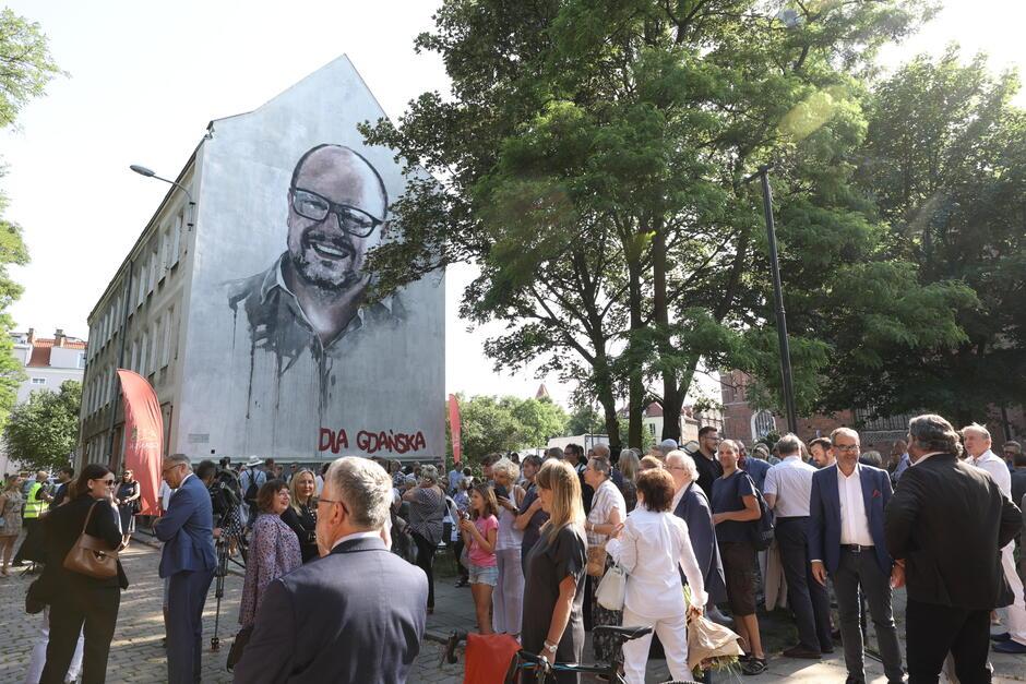 Odsłonięcie muralu i wręczenie Gdańskiej Nagrody Równości