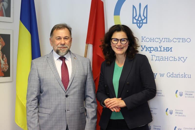 Łew Zacharczyszyn pełnił funkcję konsula generalnego Ukrainy w Gdańsku od 2016 roku. Za liczne działania w ciągu pięciu lat podziękowała mu prezydent Aleksandra Dulkiewicz