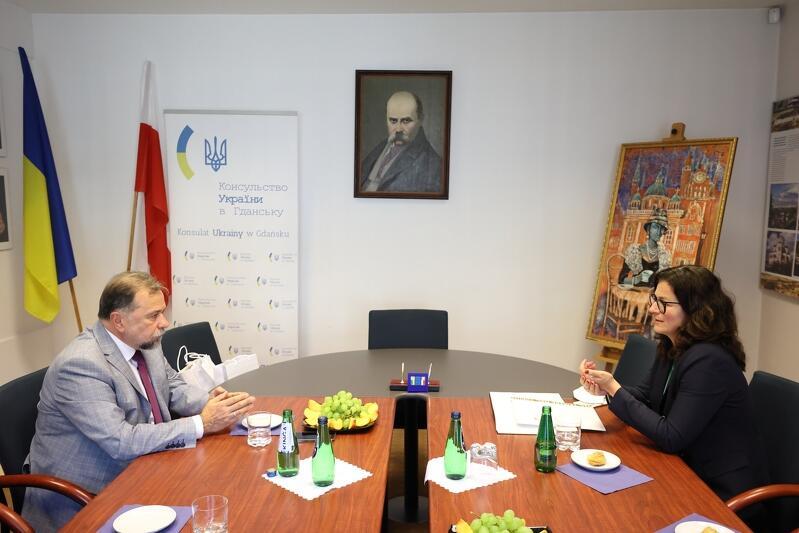 Pożegnanie było okazją do podsumowania wspólnych działań, łączących Gdańsk i Lwów, zarówno na gruncie gospodarczym, jak i kulturalnym