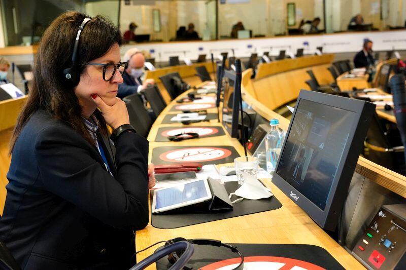 Prezydent Aleksandra Dulkiewicz podczas 145. sesji plenarnej Europejskiego Komitetu Regionów