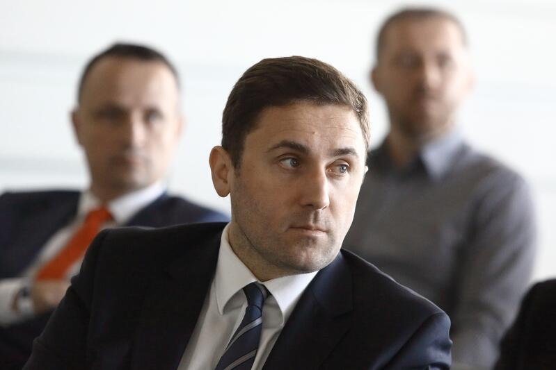 Piotr Borawski zastępca prezydent Gdańska ds. przedsiębiorczości i klimatu