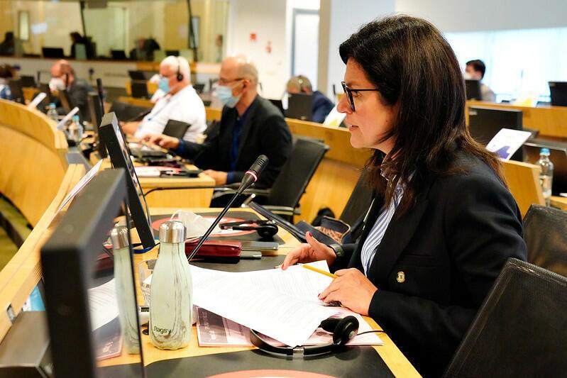 Prezydent Gdańska podczas 145. sesji plenarnej Europejskiego Komitetu Regionów, w trakcie której rozmawiano o zagrożeniach dla Unii Europejskiej