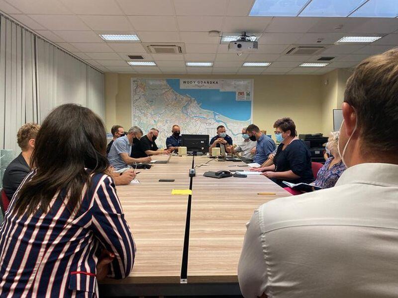 Obrady Spotkanie Miejskiego Zespołu Zarządzania Kryzysowego związane były z niepokojącymi prognozami meteorologicznymi