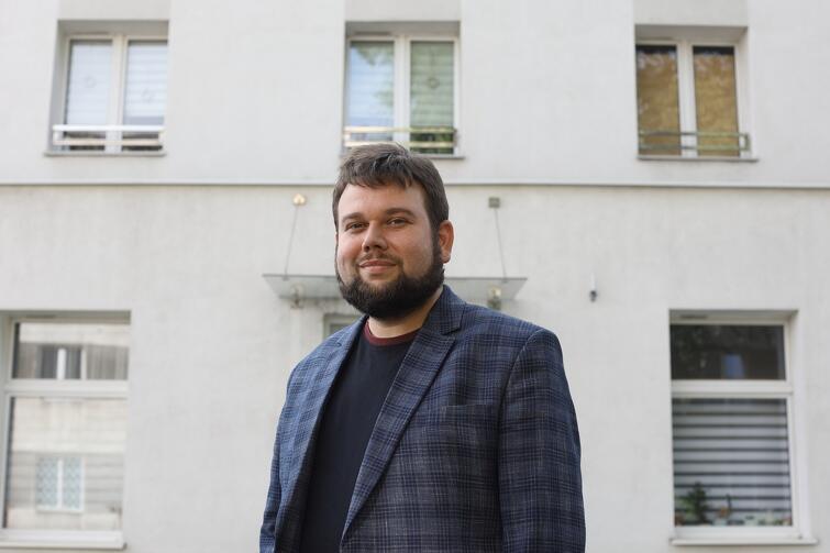 Marcin Bildziuk: - Prowadzony przez nas Dom Sąsiedzki przy ulicy Wyzwolenia do miejsce dla każdego. Nie pytamy, jakie wyznaje wartości czy jakie ma poglądy.
