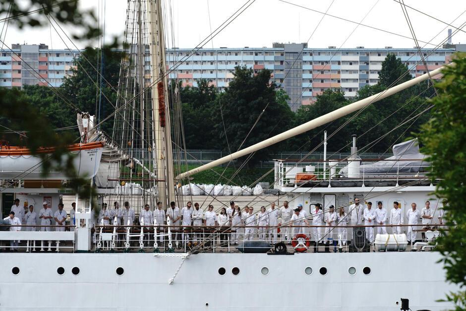 Dar Młodzieży można często oglądać przy nabrzeżu w Gdyni. W Gdańsku po raz ostatni był w 2011 r.