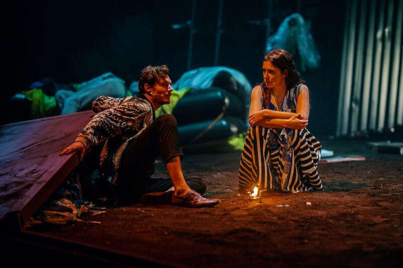 Mateusz Król jako Antonio i Sylwia Gola jako Sebastiana