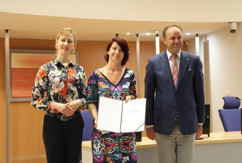 Wręczenie nominacji do Pomorskiego Zespołu ds. Kobiet odbyło się w piątek, 9 lipca 2021 w Urzędzie Marszałkowskim Województwa Pomorskiego