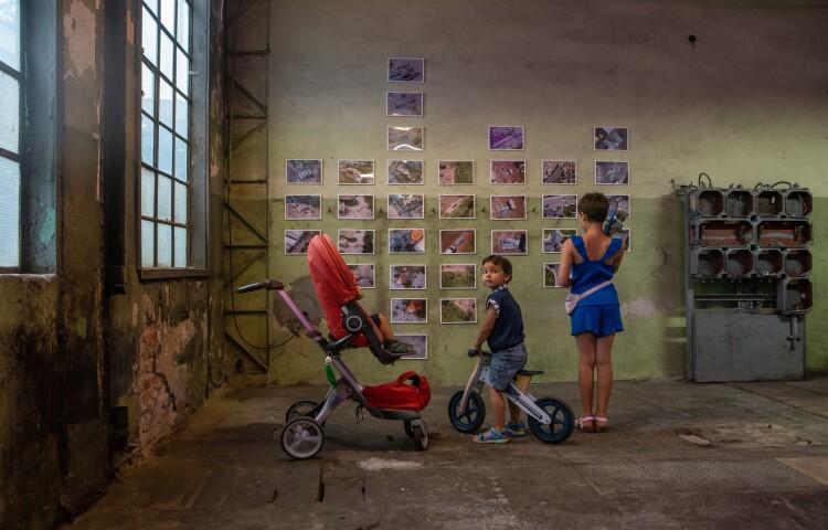 Wystawa Mariusza Warasa na terenie Stoczni Gdańskiej potrwa do końca lipca 2021 r.