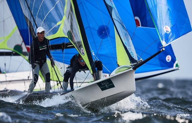 22. Gdynia Sailing Days. Tytus Butowski (AZS AWFiS Gdańsk) i Łukasz Machowski (MKS Dwójka Warszawa) zdobyli w zawodach piąte miejsce, ale pierwsze w kategorii do lat 21