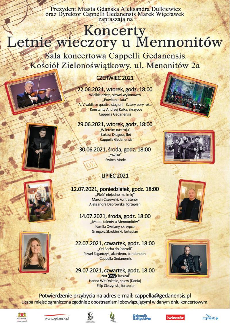 program koncertów
