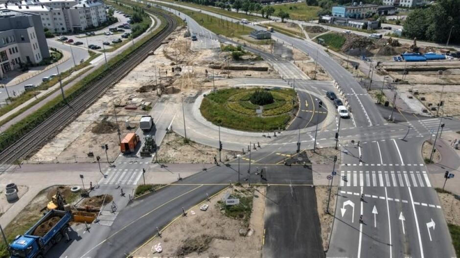 """Zakres inwestycji obejmuje przebudowę fragmentu torowiska i układu drogowego na al. Havla, tak aby można było """"wpiąć"""" nową linię"""