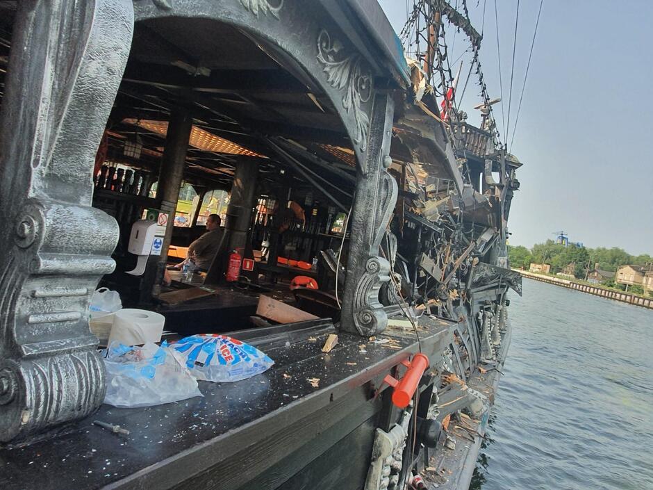 Siedem osób ucierpiało w wyniku zdarzenia, do którego doszło po godz. 15 na wodach Motławy, na wysokości tzw. Polskiego Haka