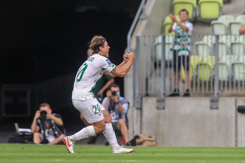 Brazylijczyk Conrado zdobył dwa gole