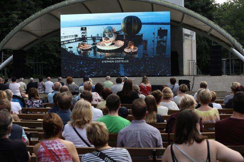 Opera Rigoletto  w Parku Oruńskim