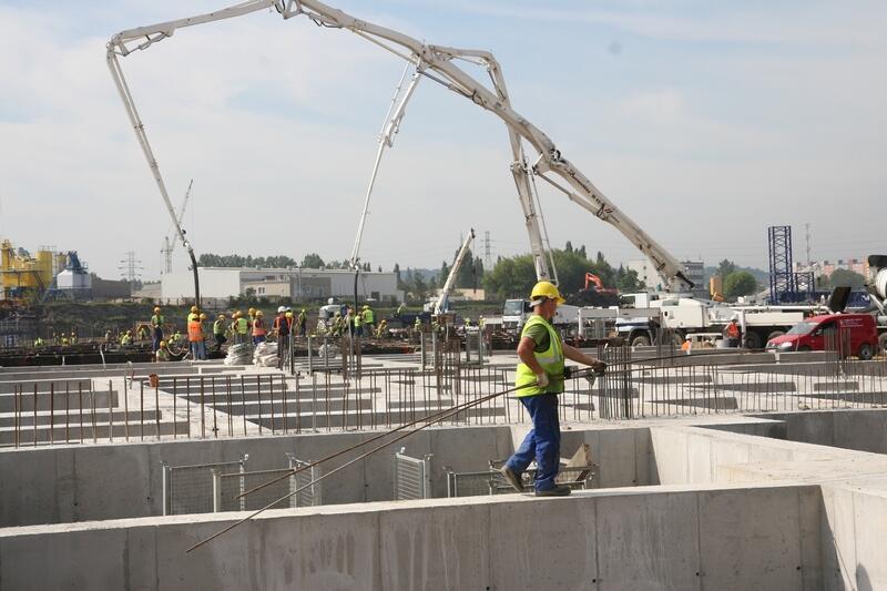 Roboty budowlane trwają. 15 lipca 2009 ...