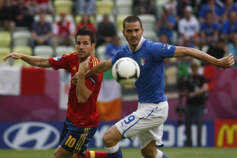 Pierwszy mecz EURO 2012 w Gdańsku odbył się 10 czerwca. Hiszpania - Włochy 1:1