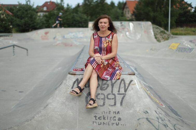 Małgorzata Biernat: - Zachęcam wszystkich do aktywności, nawet najmniejszej. To jest nasz klucz do lepszego życia