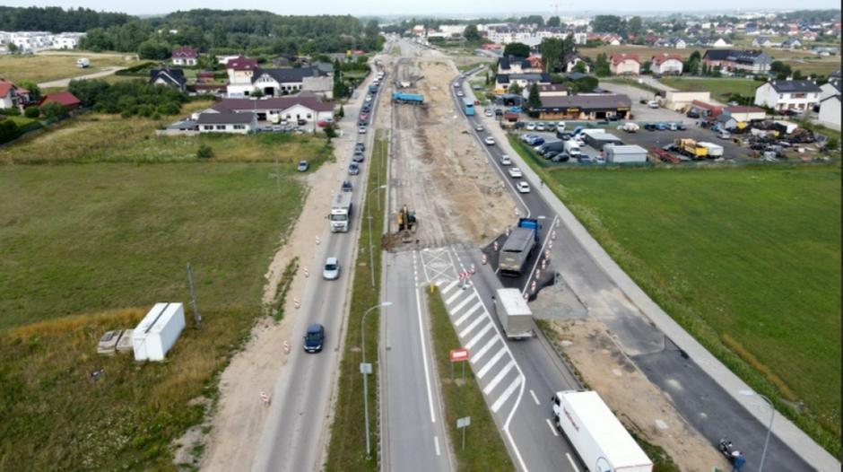 Rozbudowa ul. Kartuskiej weszła w najbardziej wyczekiwany etap robót