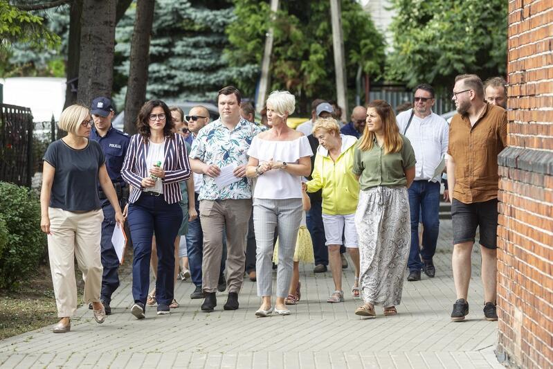 We wtorek, 20 lipca, odbył się kolejny spacer gospodarczy z udziałem prezydent Aleksandry Dulkiewicz. Tym razem po Rudnikach