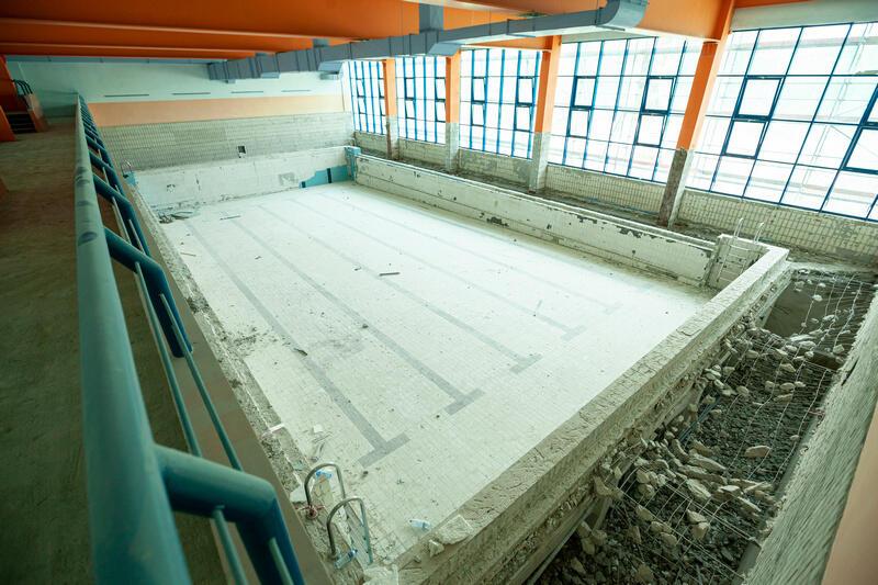 W szkole podstawowej nr 2 remontowany jest także basen