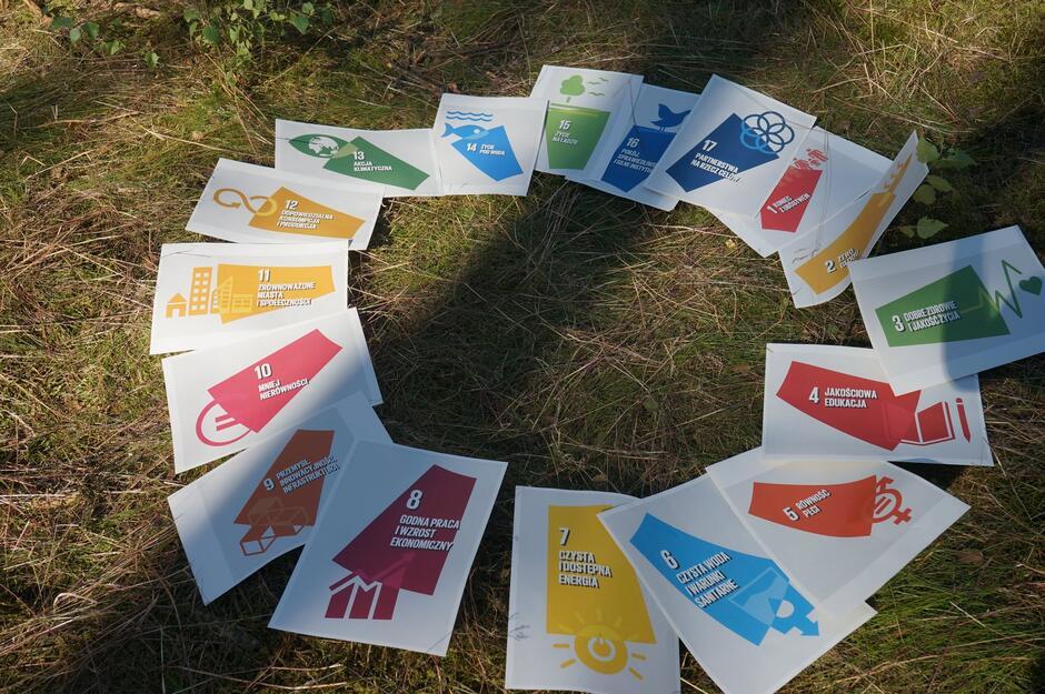 17 Celów Zrównoważonego Rozwoju ONZ - wokół nich odbywa się wolontariat Europejskiego Korpusu Solidarności