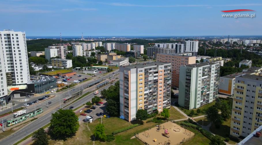 Jak wygląda dzielnica Piecki-Migowo z lotu ptaka? Sprawdźcie!