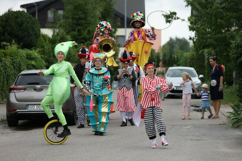 Mobilny Dom Kutury w ten weekend odwiedza Nowy Port, Chełm oraz Piecki-Migowo
