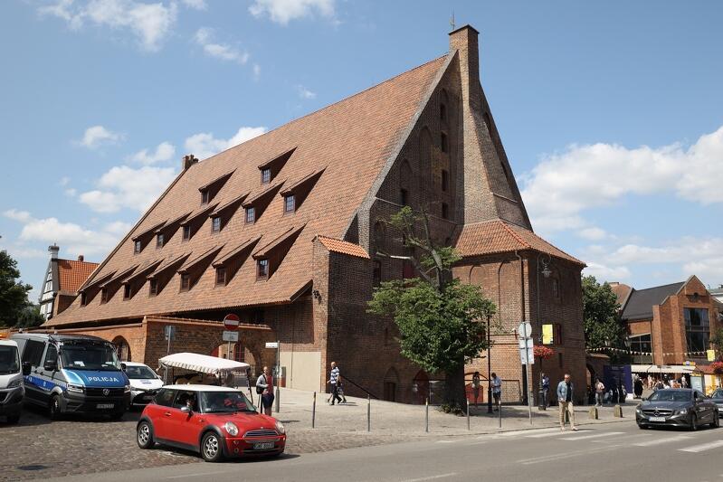 Muzeum Bursztynu już w nowej siedzibie w Wielkim Młynie